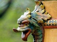 Zsolnay kerámia szobor