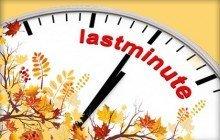Last minute őszi szünet akció