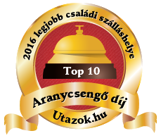 Pihenjen a 2016-os év TOP10 családi szálláshelyén!