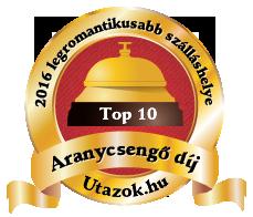 Pihenjen a 2016-os év TOP10 legromantikusabb szálláshelyén!