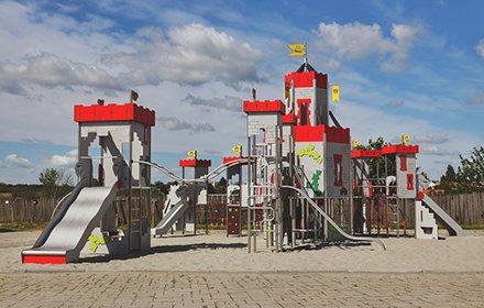 Mittelalterlicher Spielplatz